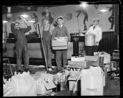 """A speakeasy at 153 Causeway Street, raided and destroyed by Federal agents in 1932. According to the Boston Public Library, it was the """"most elaborate joint ever built in Boston."""""""