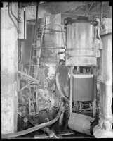 A still explodes in Roxbury in 1931