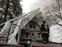 The cause of the blaze is under investigation.