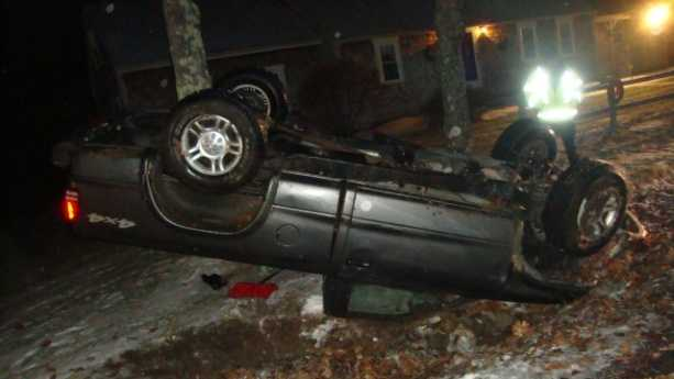 Rochester rollover crash