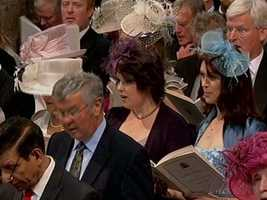 The wedding guests