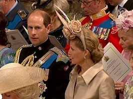 Prince Charles brother Edward.