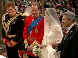 Prince William is in line to inherit the throne after his father Prince Charles.