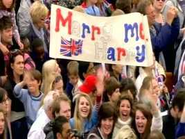 Some eligible young ladies are already focusing their hopes on Prince Harry.