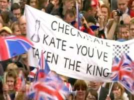 Others congratulated Kate on her catch.