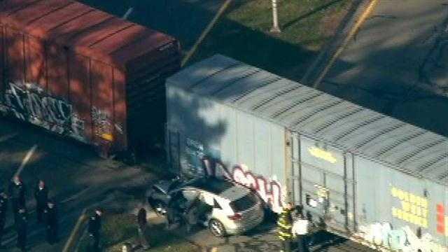 Mansfield train crash