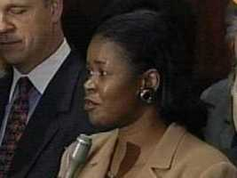 State Senator Dianne Wilkerson (D) was video taped by the FBI stuffing bribe money into her bra.