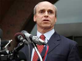 Speaker of the House Thomas Finneran pled guilty in 2004 to one count of obstruction of justice and received 18 months probation.