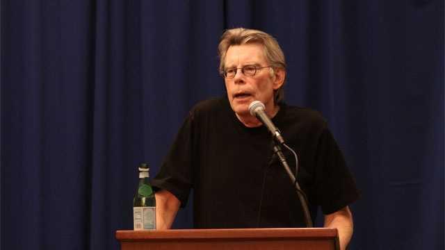Stephen King at UMass Lowell