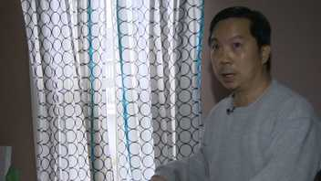 Homeowner Minh Truong describes how a burglar broke into his Randolph home.
