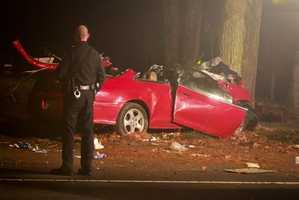 Two passengers were pronounced dead at Morton Hospital in Taunton.