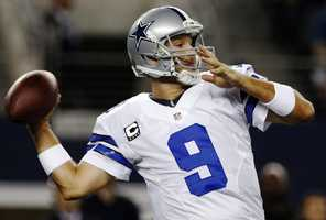 """6) Dallas Cowboys - """"America's Team"""" has one of the most iconic uniforms in sports. However, like other teams, they have several jerseys - and their alternate jersey - just never feels right. Some fans feel like they are bad luck. Uni Watch also takes away some points for the different shades of blue the Cowboys use on different parts of their uniform."""