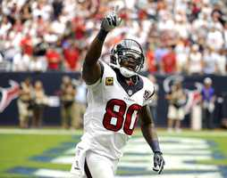 20) Houston Texans - Youngest team in the league - and while their uniforms look sharp - they seem very basic (not that there's anything wrong with that!)