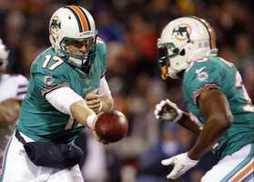 9) Miami Dolphins - The jersey colors just make you think of Southern Florida, don't  they?