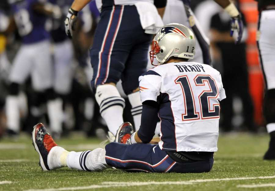15) New England Patriots - Only major complaint from Uni Watch - what's up with  the side panels on the jersey.  Do you think the Patriots should get rid of them?