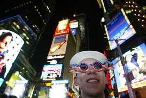 In recent years, about 1 million people pack Times Square, and another billion watch on television.