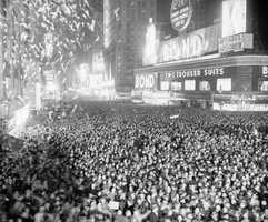 This is a view of the 1939 celebration.