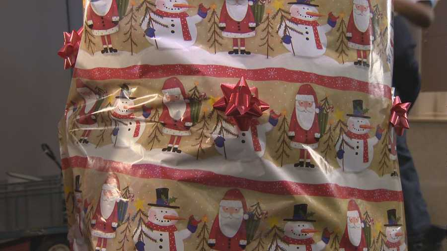 All wrapped up -- with a few bows on this 'gift' as a finishing touch!