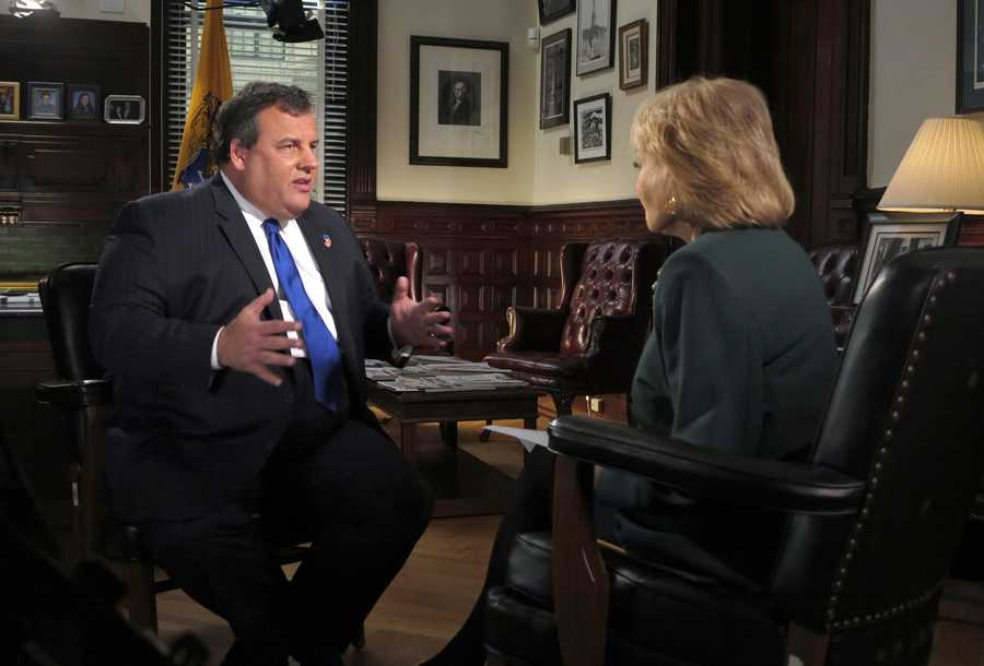 Outspoken New Jersey Governor Chris Christie.