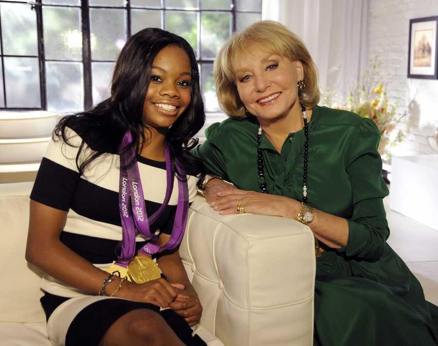 Olympic Gold medalist Gabby Douglas.