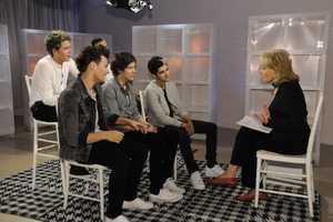 The British boyband sensation One Direction.