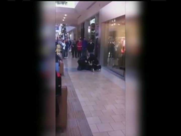 A video posted on YouTube shows Li and police officers on the floor outside the Apple store at the Nashua mall. The crackle of the Taser and Li's screams can be heard on the video. (Click here to watch the video)