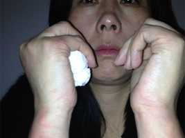 Xiaojie Li, of Newton, said she was embarrassed by Monday's incident at thePheasant Lane Mall in New Hampshire.