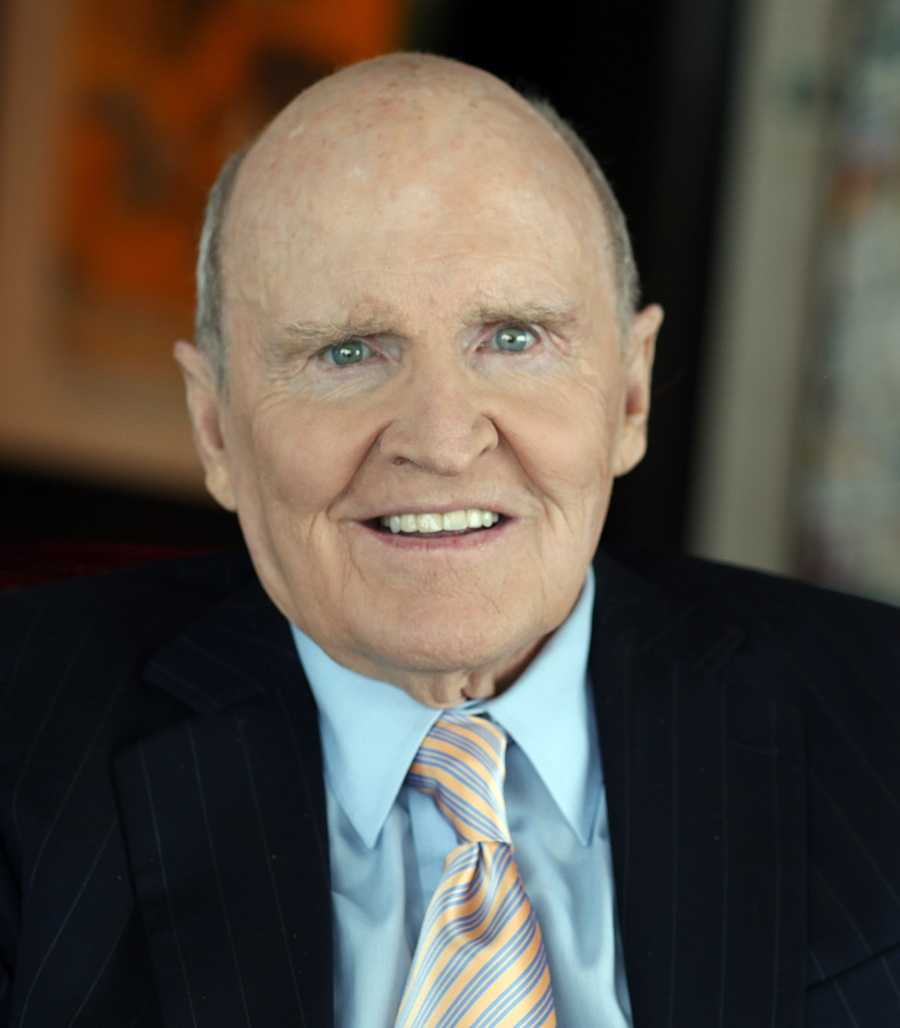 """10) Jack - 329  (John Francis """"Jack"""" Welch, Jr. is an American chemical engineer, business executive, and author. He was born inPeabody, Massachusetts)"""