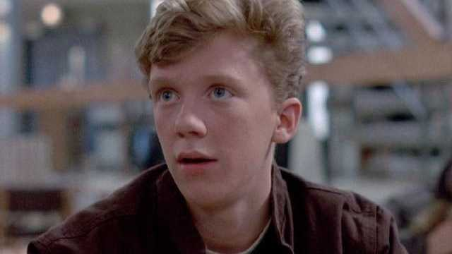 08) Anthony - 351 (Michael Anthony Hall, known professionally as Anthony Michael Hall, is an American actor, film producer and director who starred in several teen-oriented films of the 1980s. He was born inWest Roxbury.)