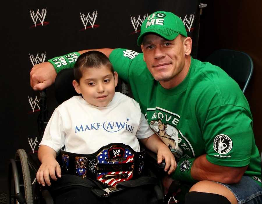 07) John - 373 (John Cena is an American professional wrestler and actor for the WWE. He was born in West Newbury, Massachusetts.)