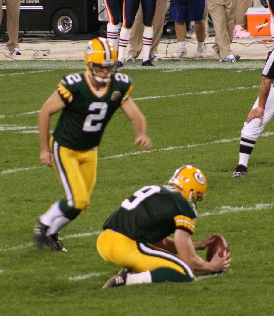 06) Mason - 410 (Mason Crosbyis an American football placekicker for the Green Bay Packers of the National Football League.)