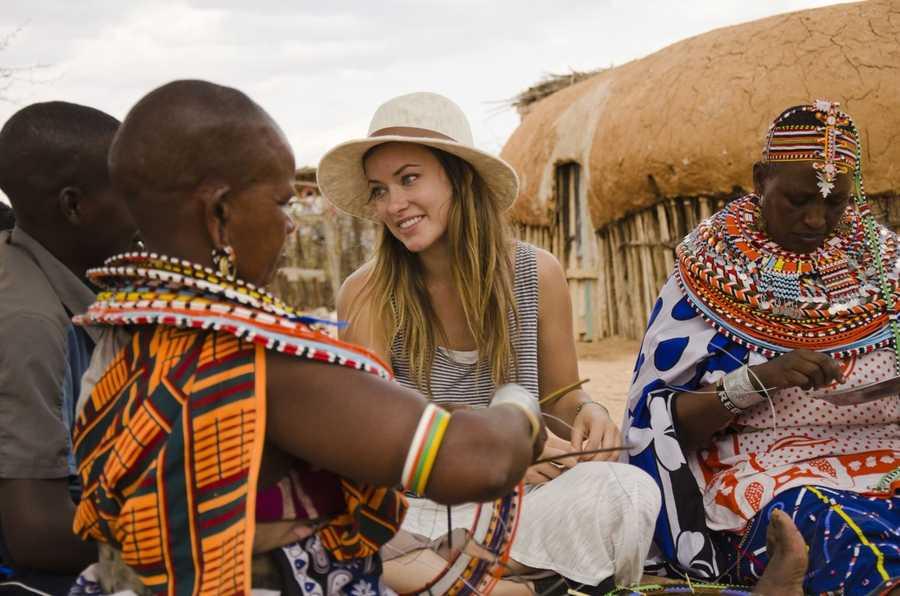 02) Olivia - 452 (Pictured is actress Olivia Wilde in Kenya)
