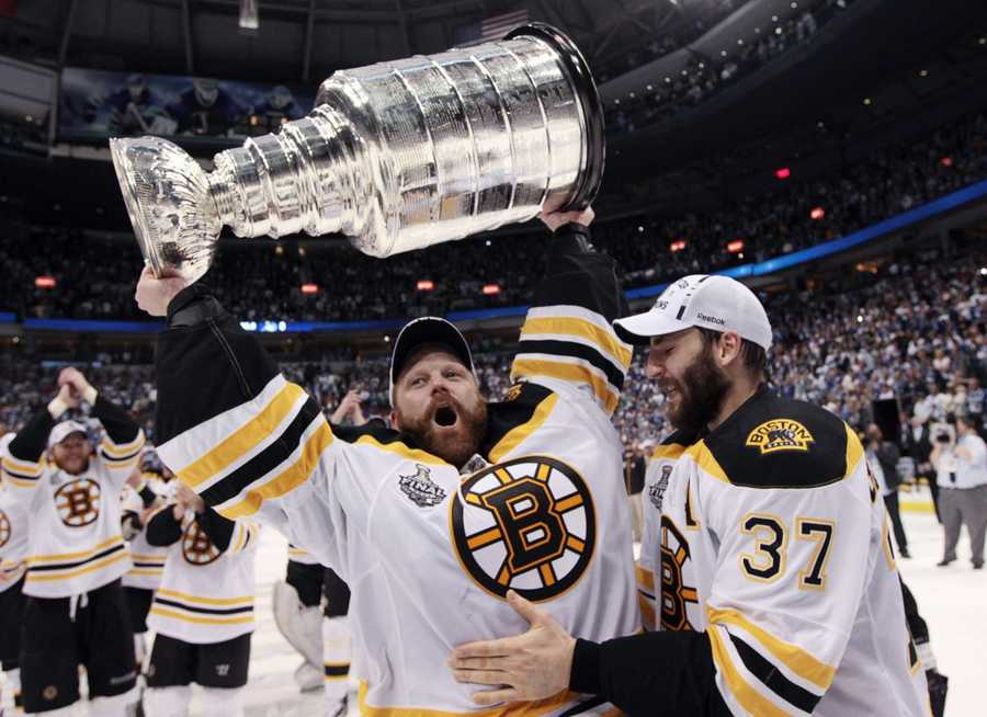 23) Timothy - 723  (Pictured is goaltender Tim Thomas with the Boston Bruins)