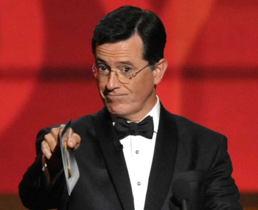 12) Stephen - 1,229 (The other spelling of Steven - pictured here is Comedian Stephen Colbert)