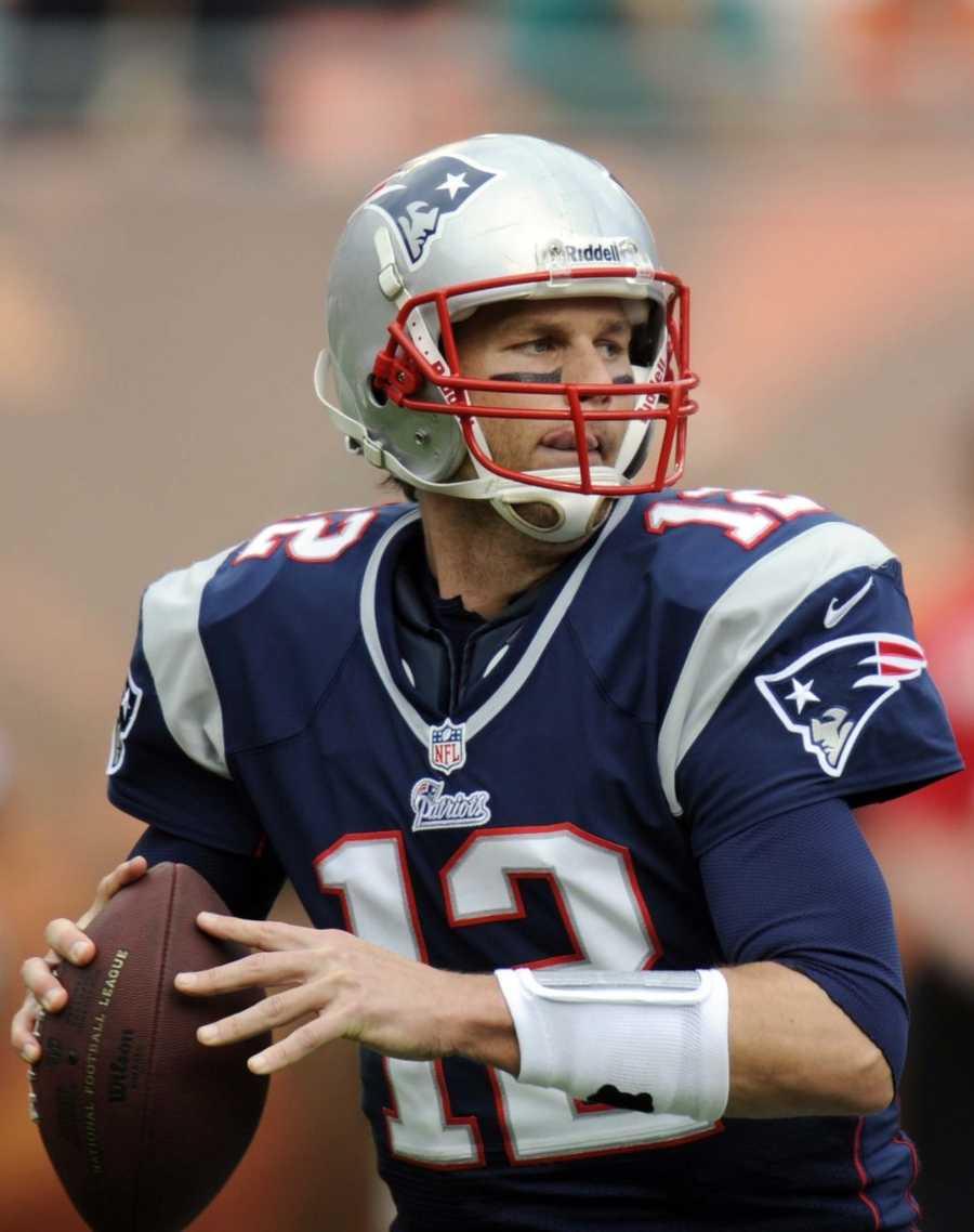 10) Thomas - 1.570  (Tom Brady, Quarterback for the New England Patriots)