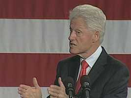 08) William - 1,784  (Pictured is former President William Jefferson Clinton)