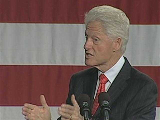 08) William - 1,784  (Pictured is former President William Jefferson Clinton)