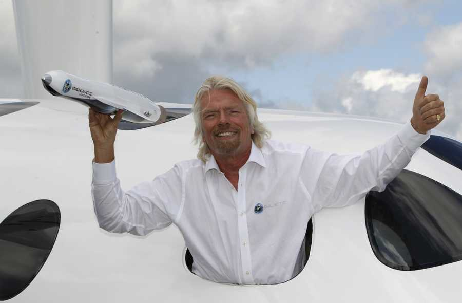 07) Richard - 1,897 (Sir Richard Charles Nicholas Branson is an English businessman, best known as the founder and chairman of Virgin Group of more than 400 companies.)