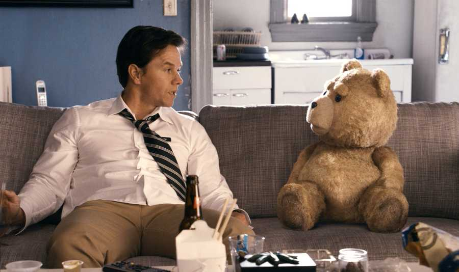 06) Mark - 2,036 (Mark Wahlberg is a Boston-born American actor, film and television producer, and former rapper. Pictured here from the movie Ted)