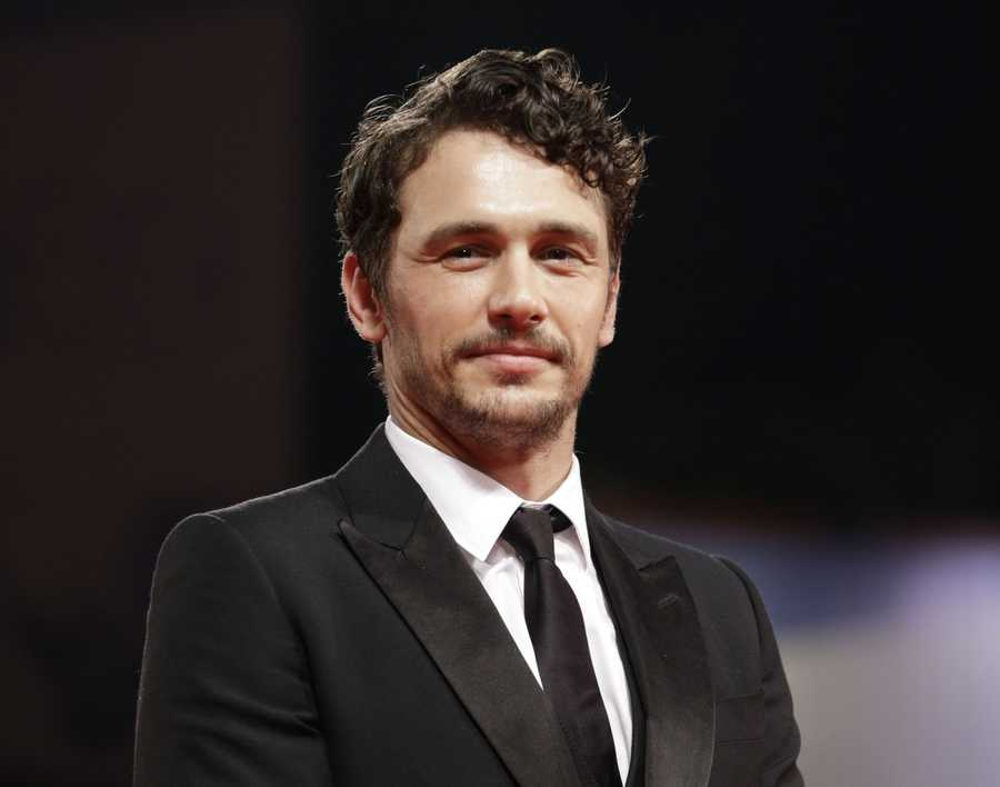 05) James - 2,562 (Pictured here is Actor James Franco)