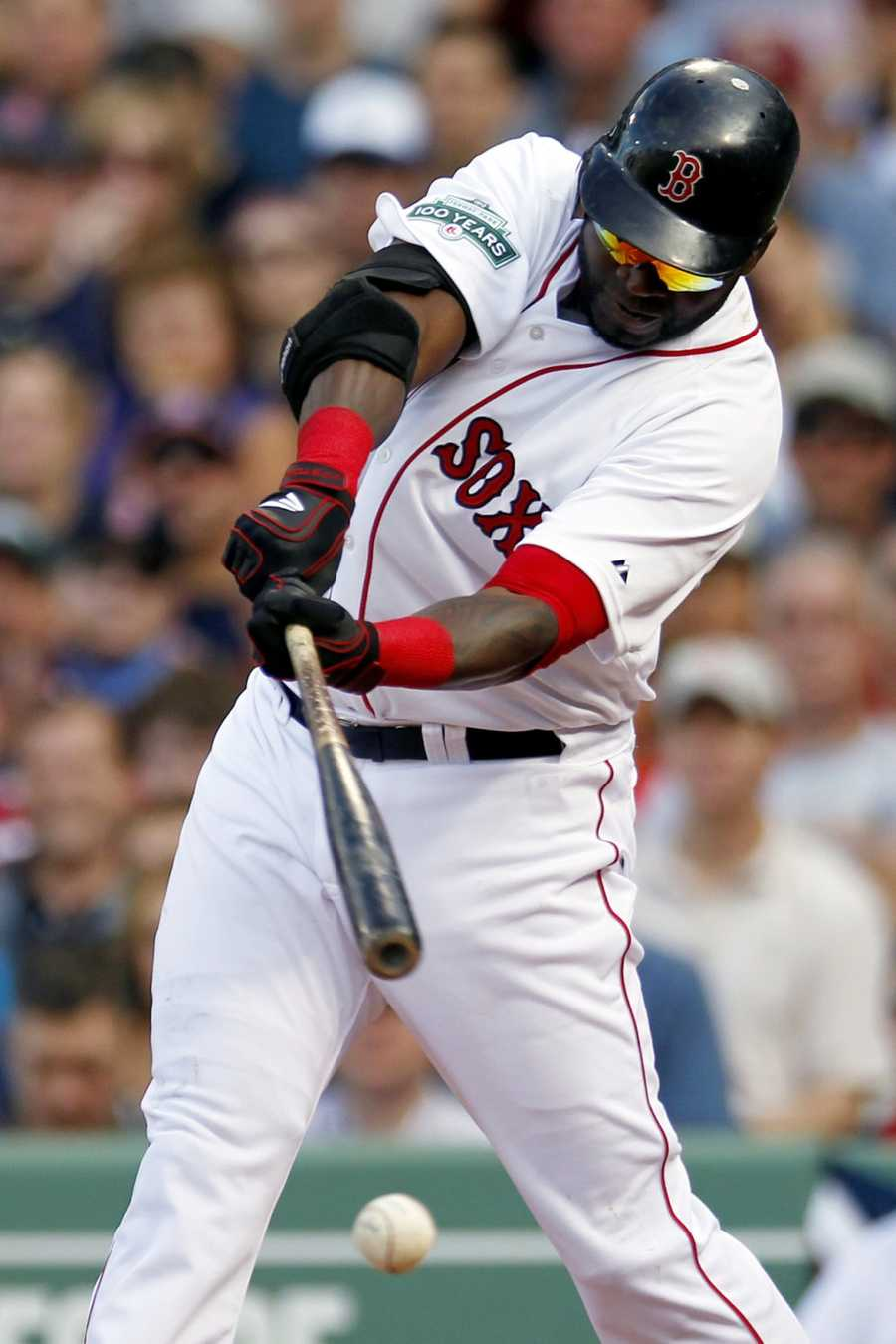 04) David - 2,943 (Pictured here is David Ortiz, DH for the Boston Red Sox)