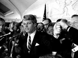 03) Robert - 3,002  (Pictured is Robert F. Kennedy)