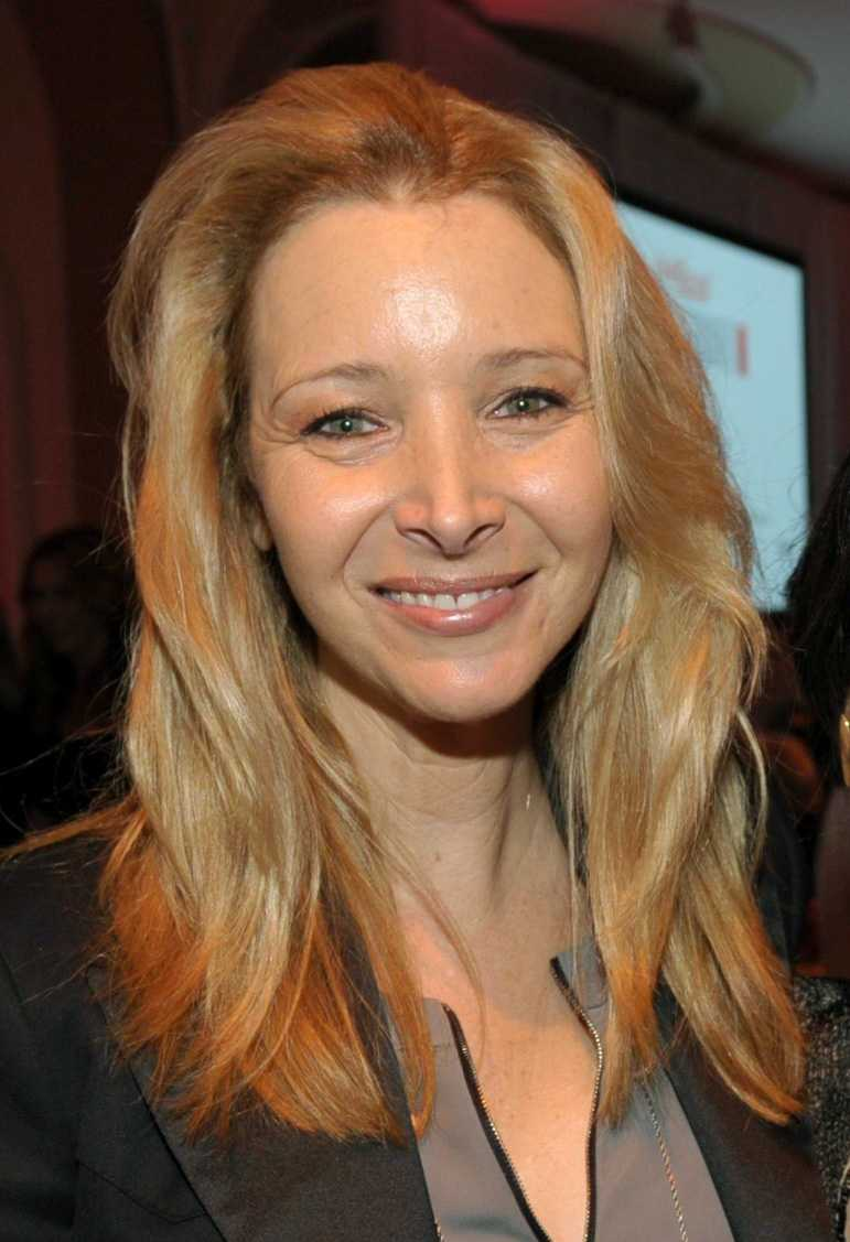 02) Lisa - 1,554  (Pictured here is Lisa Kudrow)