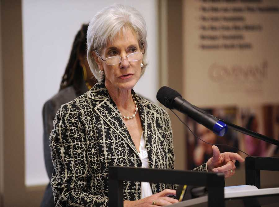 08) Kathleen - 1,068  (Pictured here is Health and Human Services Secretary Kathleen Sebelius)