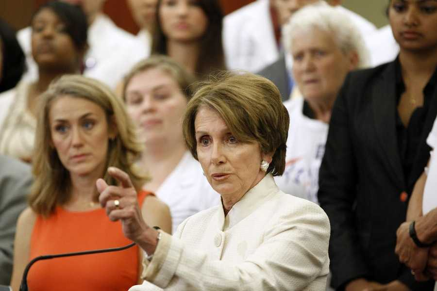 09) Nancy - 1,058  (Pictured here is U.S. House Minority Speaker Nancy Pelosi)