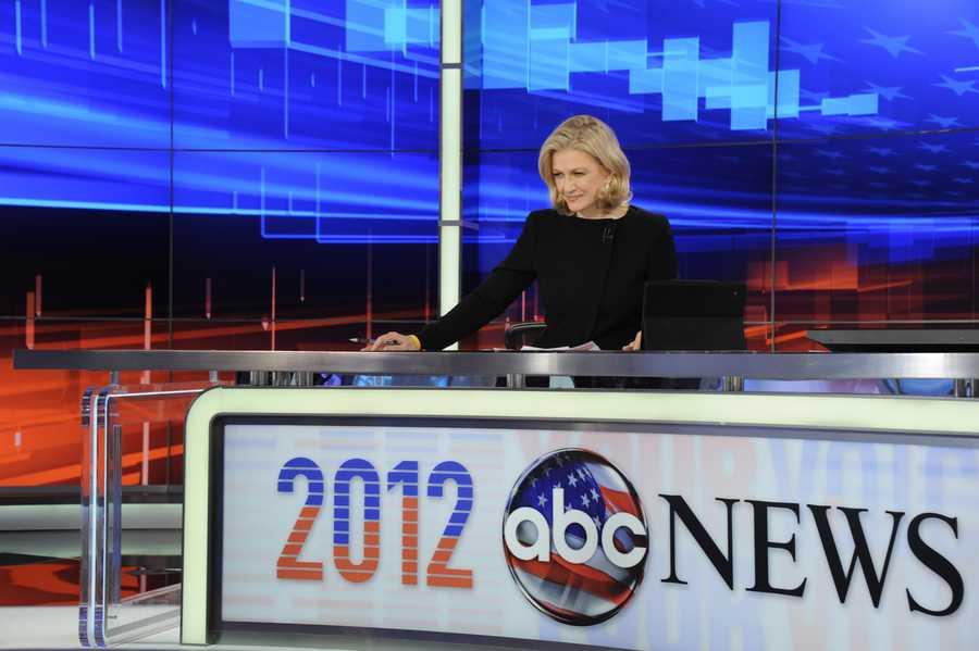 12) Diane - 803  (Pictured here is ABC World News anchor Diane Sawyer)