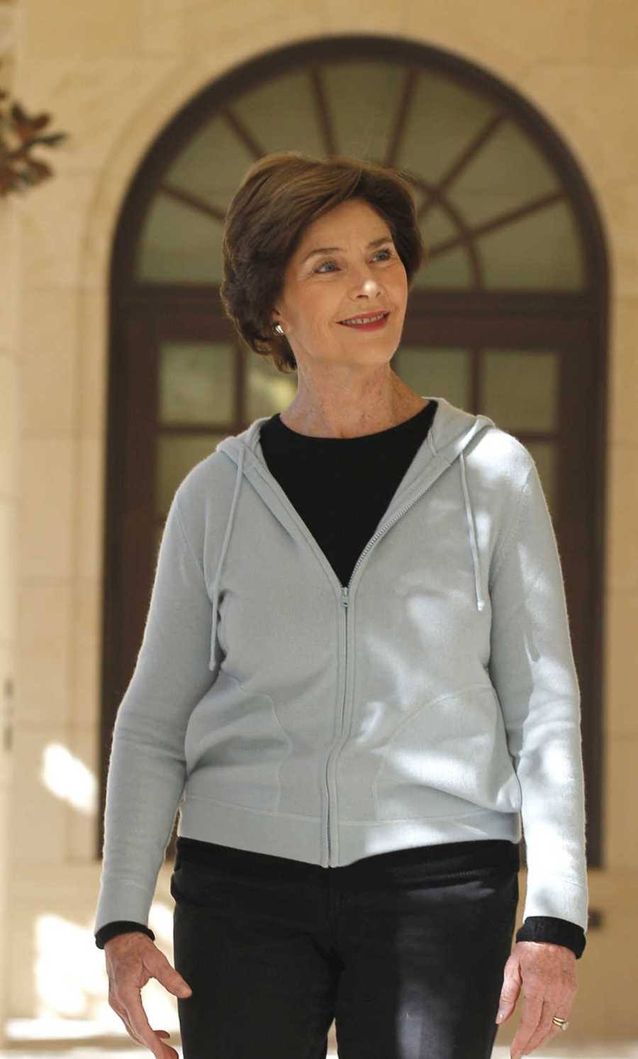 Looking at the top 25 names for women from the year 1961 now. Here is a look at the top 25, according to the U.S. Social Security Administration.At number 25 is Laura, with 536.  (Former First Lady Laura Bush is pictured)