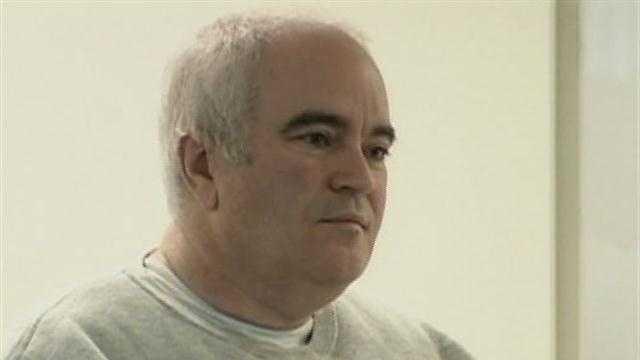 John Burbine in court