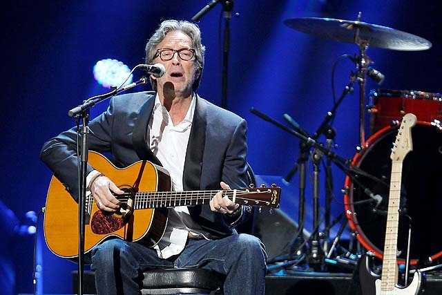 Eric Clapton. The sold-out show was televised live, streamed online, played on the radio and shown in theaters all over the world. Producers said up to 2 billion people were able to experience it live.