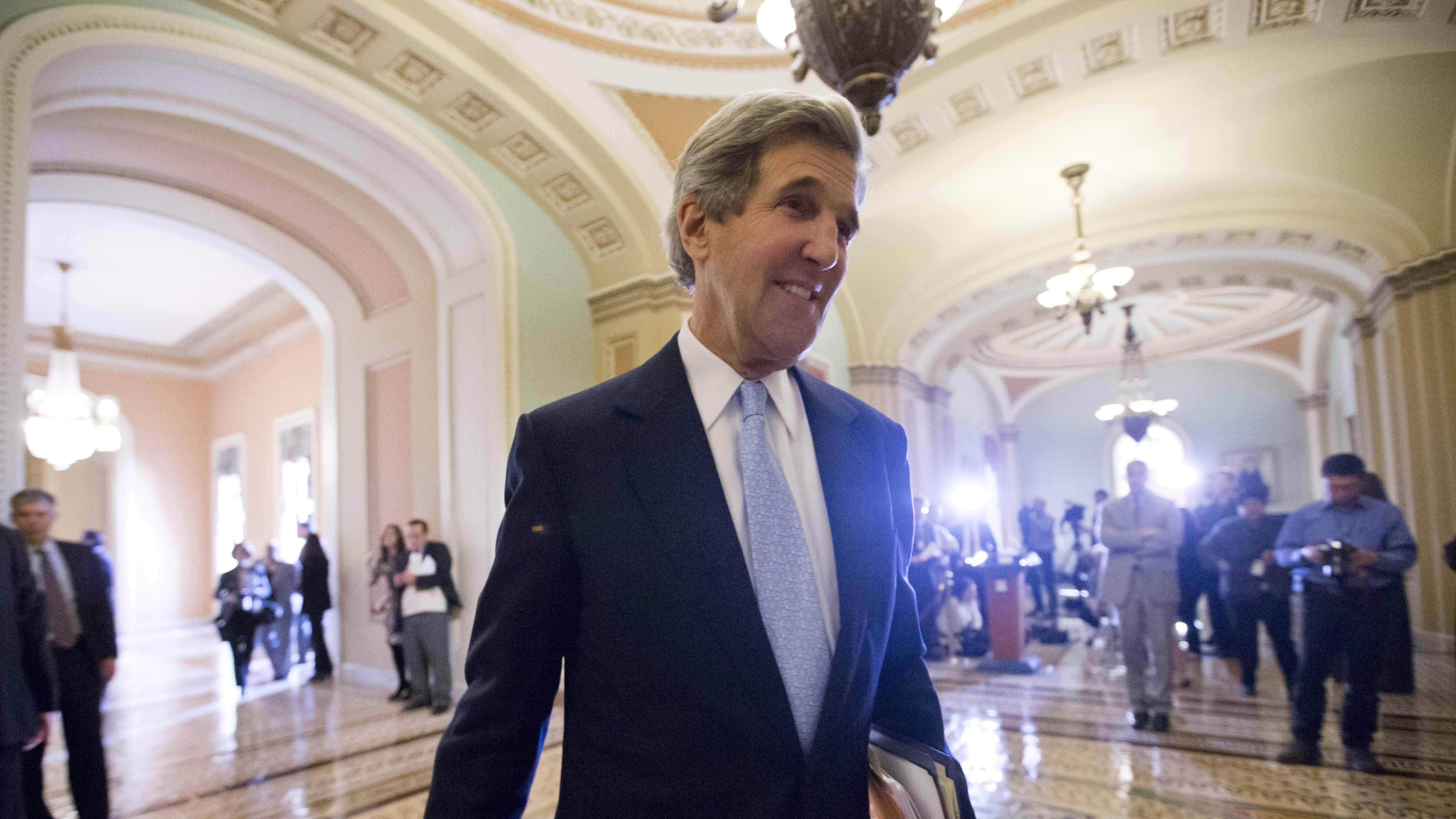 Sen. John Kerry AP Photo